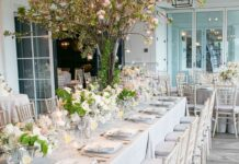 Ideas for Wedding reception table decoration